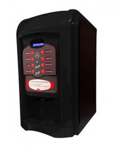Máquina de Café Le Petit faz 8 tipos de bebidas, com moedor de café, display LCD em português