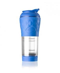 Cafeteira Pressca 350ml - Azul Real